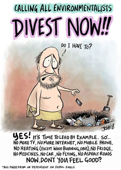 divest now from fossile fuels