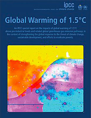 IPCC Special Report on a Global Warming of 1,5 %