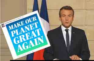 Macron-make the planet great again