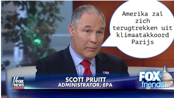 Scott Pruitt, administrator Environmental Protection Agency