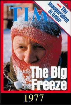 Time-afraid of Global Cooling- 1977