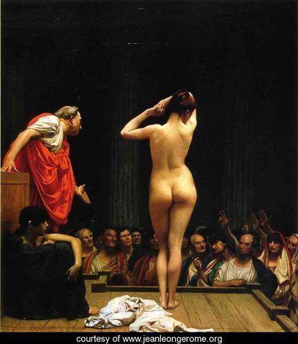 Gerom-Phryne befor her judges