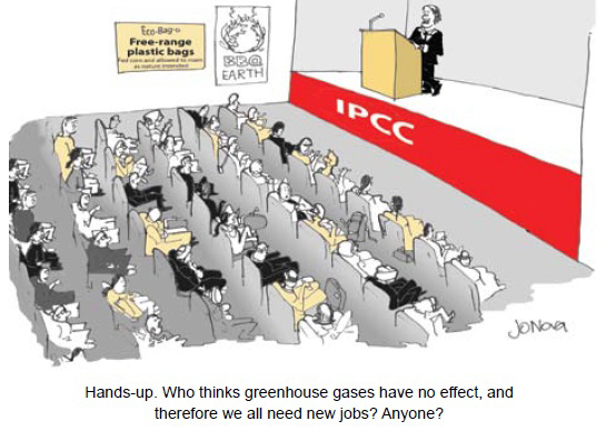 Hands up at IPCC
