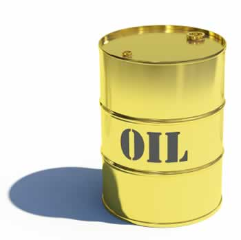 oil barrel of gold