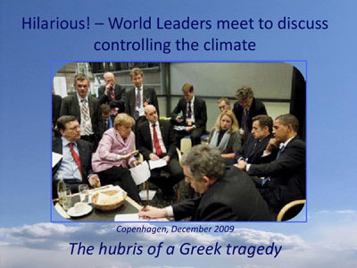world leaders meeting to control the climate